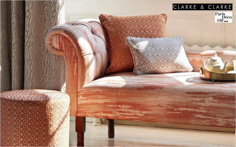 CLARKE & CLARKE Tissu d'ameublement pour siège Tissus d'ameublement Tissus Rideaux Passementerie  |