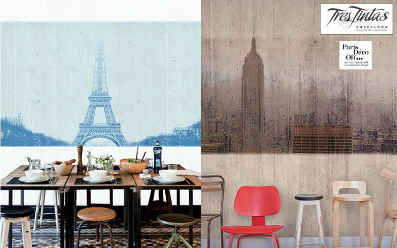 TRES TINTAS Papier peint panoramique Papiers peints Murs & Plafonds  |