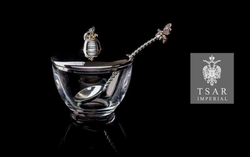 TSAR IMPERIAL Pot à miel Pots Vaisselle  |