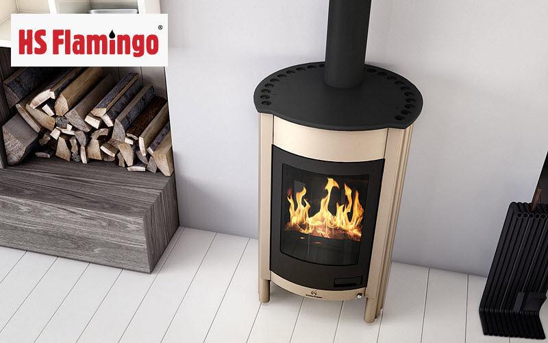 HS FLAMINGO Poêle à bois Poêles Foyers Inserts Cheminée  |