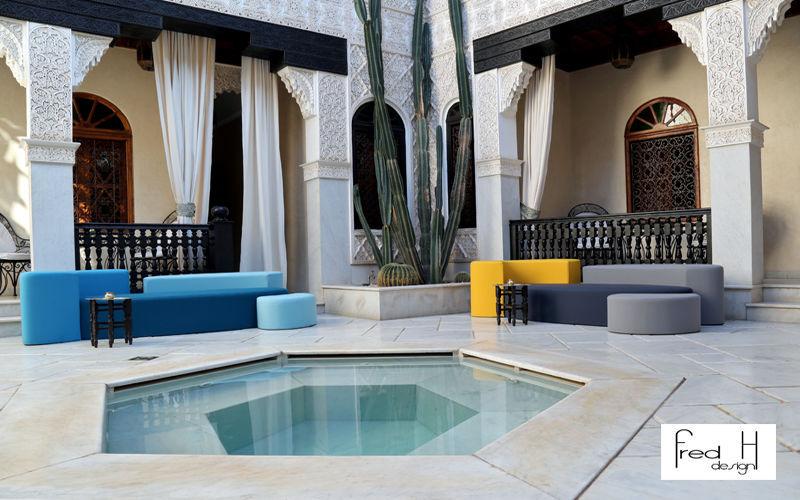 FRED H DESIGN Canapé de jardin Salons complets Jardin Mobilier  |