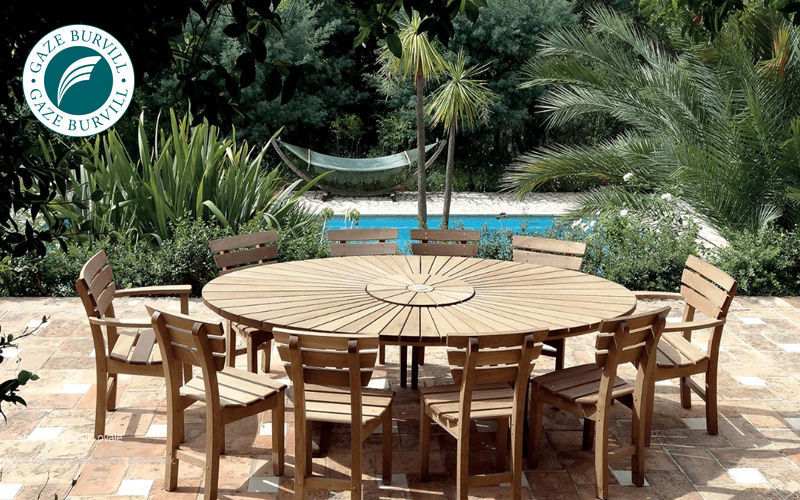 Table de jardin ronde tables de jardin decofinder - Table de jardin ronde intermarche ...