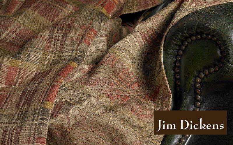 JIM DICKENS Tissu d'ameublement pour siège Tissus d'ameublement Tissus Rideaux Passementerie  |