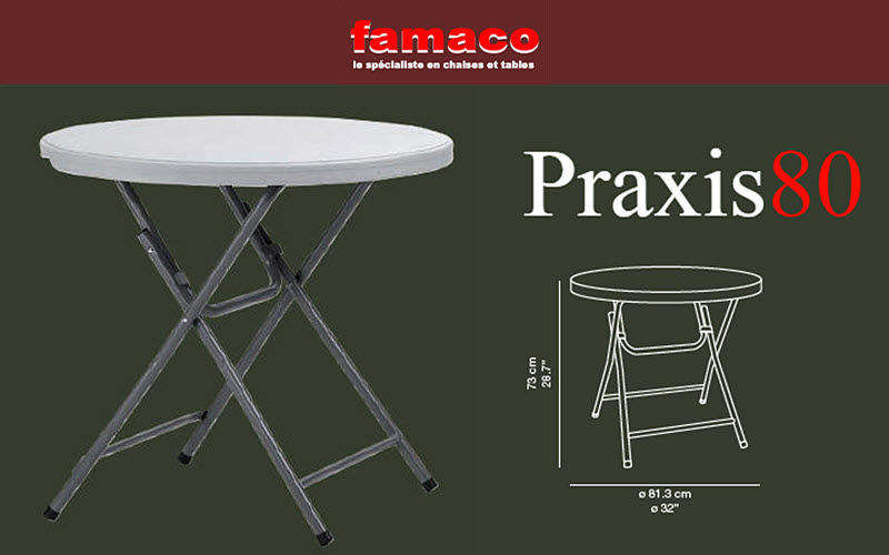 Famaco Table pliante Tables de repas Tables & divers  |