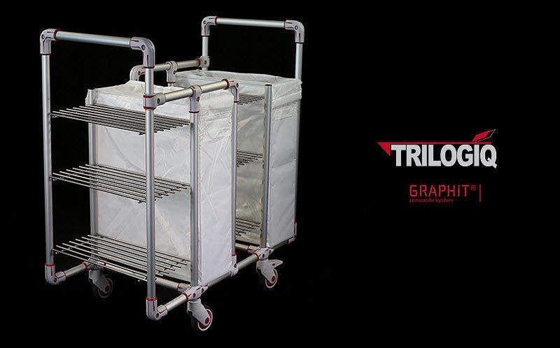 TRILOGIQ Chariot de blanchisserie Divers Equipement Equipement  |