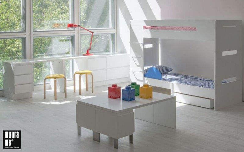 Muurame Lits superposés enfants Chambres Enfant Enfant  |