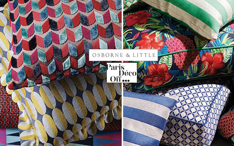 Osborne & Little Coussin carré Coussins Oreillers Linge de Maison  |