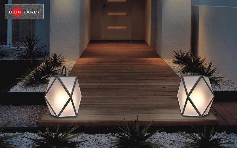 Lampe de jardin luminaires de sol decofinder for Luminaire sol exterieur