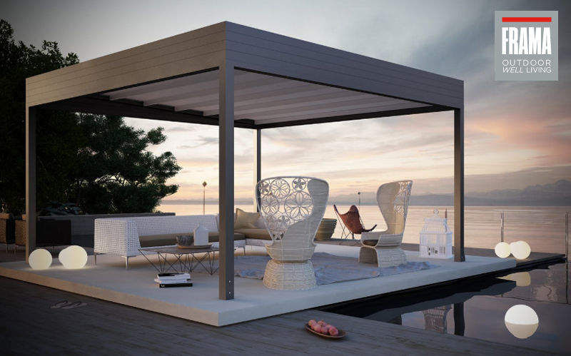 FRAMA ACTION Abri de terrasse Parasols Tonnelles Jardin Mobilier  |