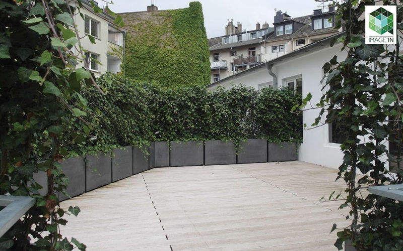 IMAGE'IN Bac à arbre Bacs Jardin Bacs Pots  |