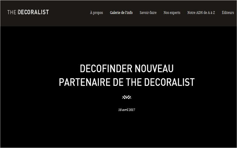 THE DECORALIST     |