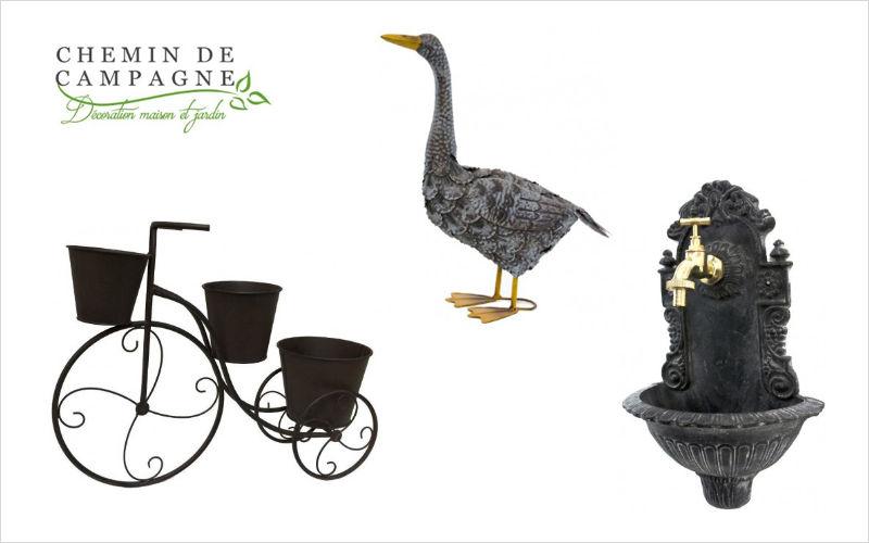 CHEMIN DE CAMPAGNE Porte-pots de jardin Porte-Pots Jardin Bacs Pots  |