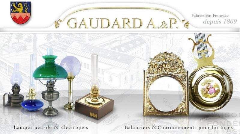 A & P GAUDARD MANUFACTURE DEPUIS 1869     |