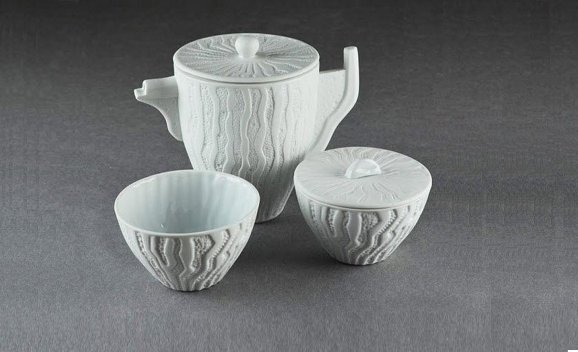 Porcelaine Carpenet Service à thé Services de table Vaisselle  |