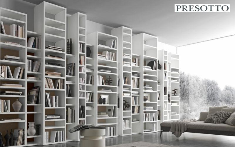 Presotto Bibliothèque ouverte Bibliothèques Rangements  |
