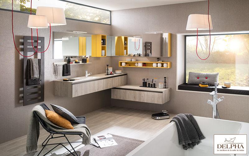 Delpha Meuble de salle de bains Meubles de salle de bains Bain Sanitaires Salle de bains | Design Contemporain