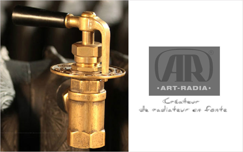 ART-RADIA Robinet de radiateur Radiateurs Equipement  |
