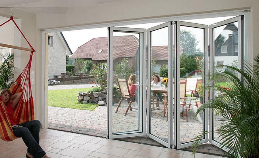 KLOZIP Porte-fenêtre pliante Portes-fenêtres Portes et Fenêtres  |