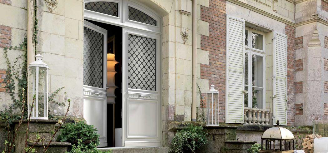BREMAUD Porte d'entrée double Portes Portes et Fenêtres  |