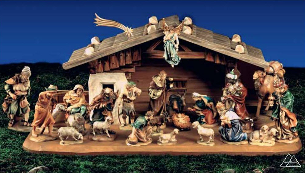 Conrad Moroder Crèche de Noël Noel Noël Mariage et Fêtes  |
