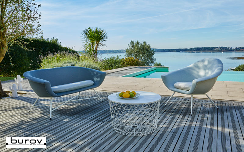 Burov Canapé de jardin Salons complets Jardin Mobilier  |
