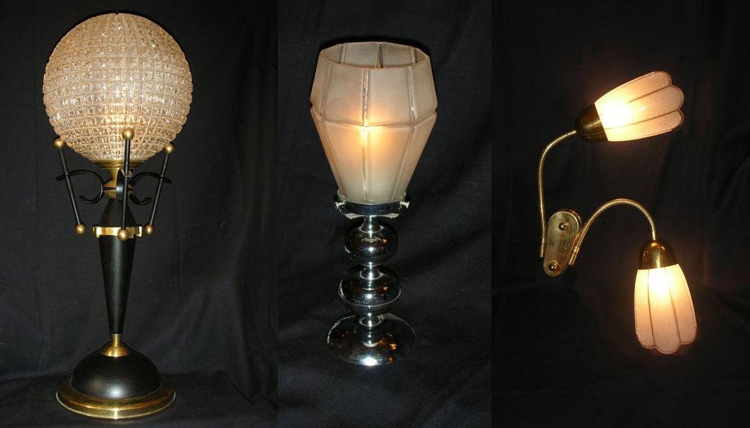 Metal D'alcove Eric Katz Lampe à poser Lampes Luminaires Intérieur Salon-Bar | Classique