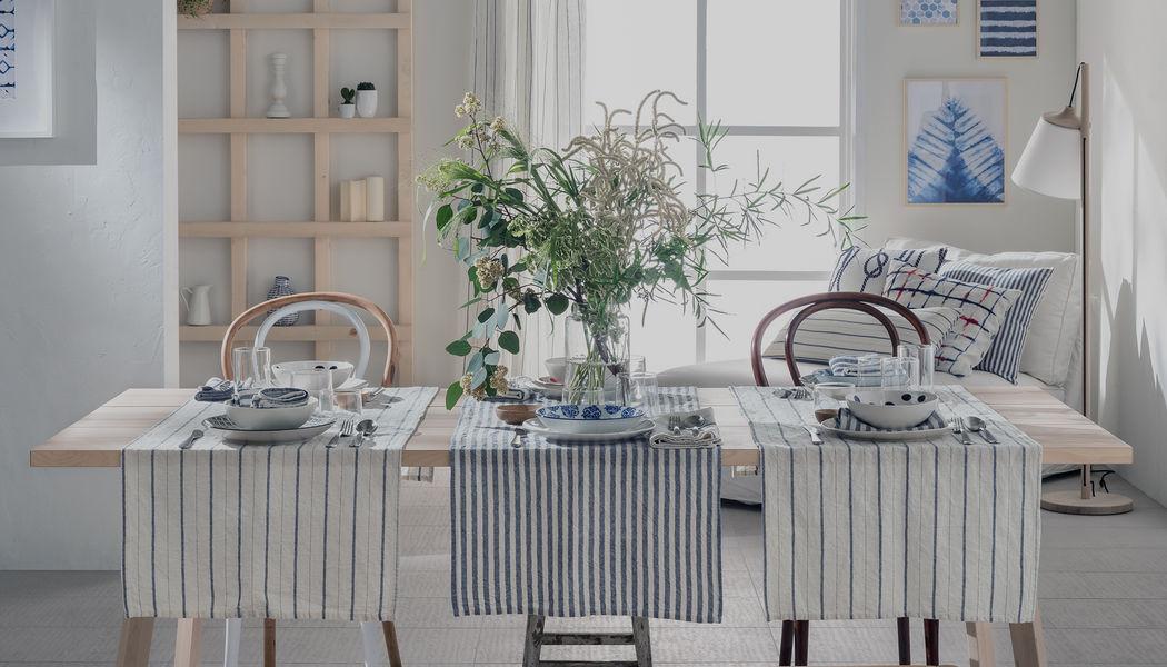 la FABBRICA del LINO Vis-à-vis Nappes Linge de Table  |