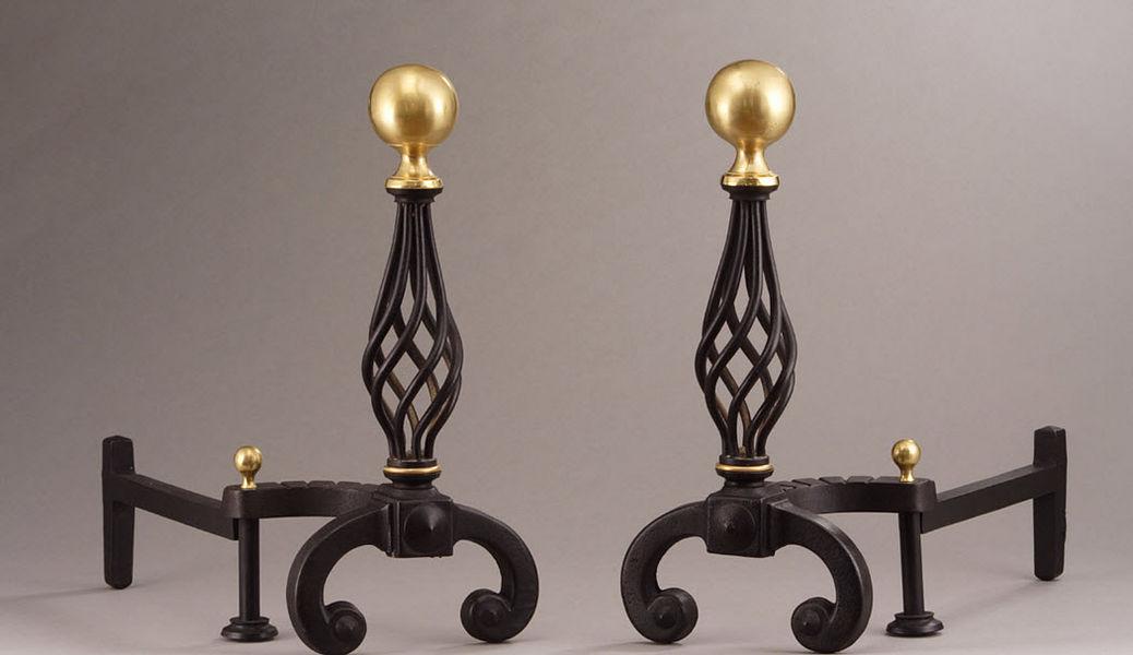 Galerie Atena Chenets Accessoires de cheminée Cheminée  |
