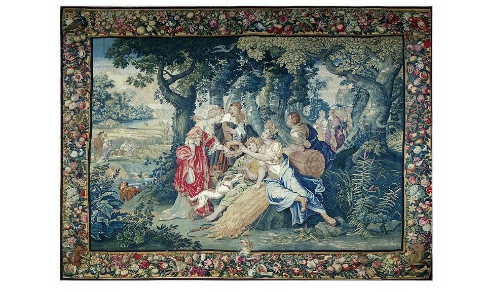 Galerie Jabert Tapisserie Ancienne Tapisserie Tissus d'ameublement Tissus Rideaux Passementerie  |