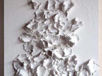 LOUISE FRYDMAN - forêt blanche - Panneau Décoratif