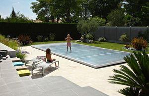 Abri piscine POOLABRI - Abri de piscine plat amovible