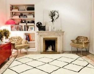 Chic Intemporel Tapis traditionnel