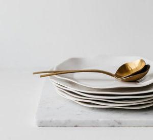 Assiette plate-SOPHIE MASSON PORCELAINE