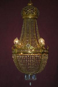 Philippe de Beauvais - lustre corbeille - Lustre