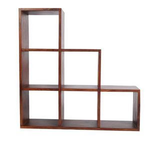 BELDEKO - meuble escalier 6 cases - Bibliothèque