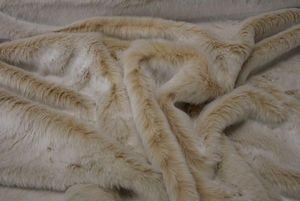 Ambassador Textiles - beige frost - Fausse Fourrure