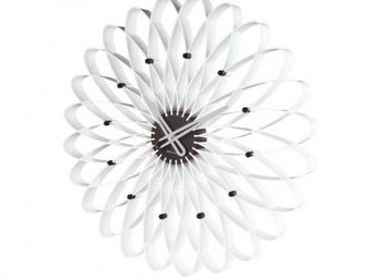 Karlsson Clocks - karlsson - horloge spirograph - karlsson - blanc - Horloge Murale