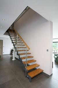Cr�ateurs d'Escaliers Treppenmeister - ferro - Escalier Droit