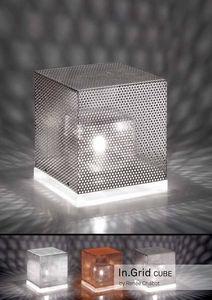 Neweba - in grid cube - Lampe À Poser