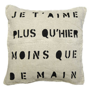 Sugarboo Designs - pillow collection - je t'aime - Coussin Carré