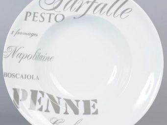 Maisons du monde - assiette pasta - Assiette Plate