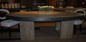 Cabuy Didier - plaisir - Table De Repas Ovale