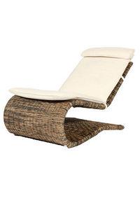 ROTIN DESIGN - chaise s-lounger - Chaise Longue De Jardin