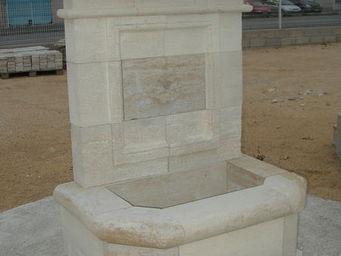 Marbrerie Rouillon -  - Fontaine Murale D'ext�rieur