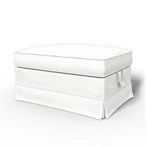 BEMZ - absolute white panama cotton - Housse De Repose Pieds