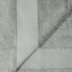 Cosyforyou - serviette coton �gyptien gris - Serviette De Toilette