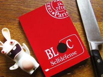 DANS TETE - bloc sel defense - Bloc Notes