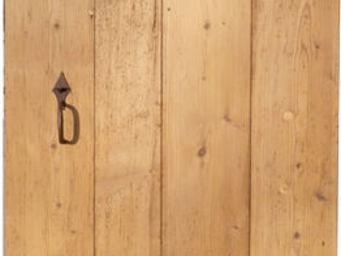 Portes Anciennes - mod�le porte de communication en vieux pin - Porte De Communication Pleine