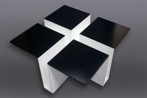 RESISTANCE DESIGN -  - Table Basse Carrée