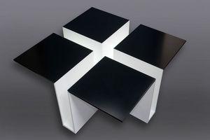 RESISTANCE DESIGN -  - Table Basse Carrée